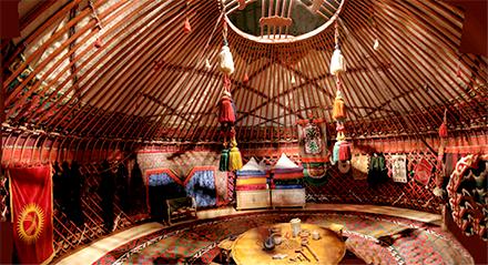 Yurt In Moonlight Kyrgystan Camp In Style