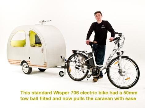 Environmental Transport Association (ETA) QTvan Mini Camper
