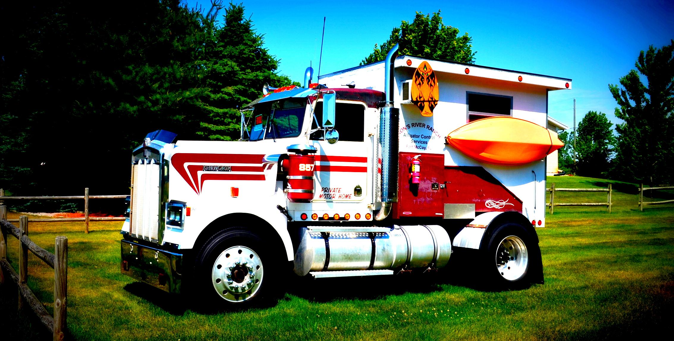 Semi Truck Camper