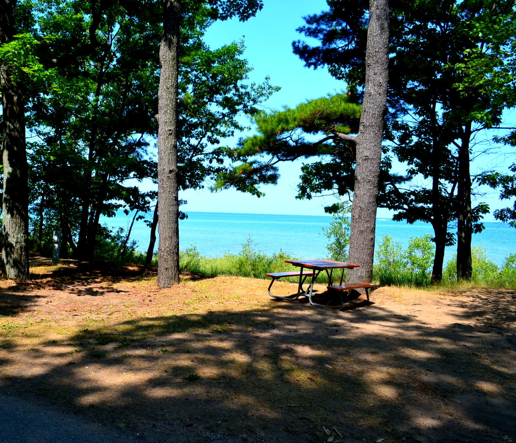 Port Huron State Park Beach