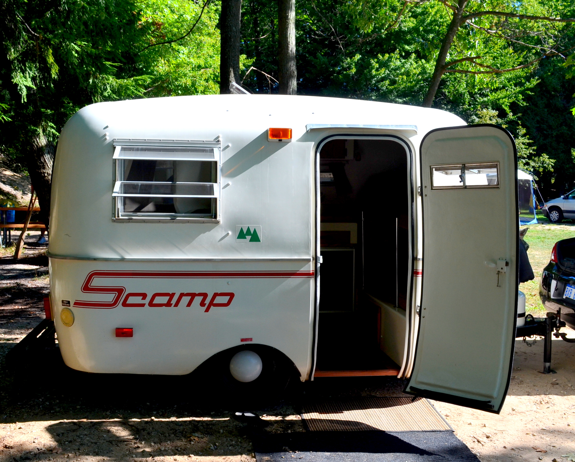 scamp travel trailer